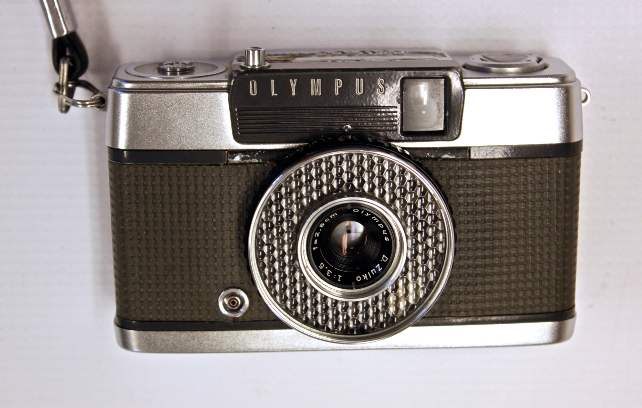 Olympus OM-1 Vintage Camera Top Housing and Base (Silver ... |Olympus Vintage Camera