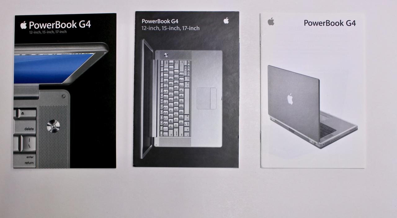 Spiksplinternieuw Apple PowerBook G4 brochures | Vintage Apple NM-66