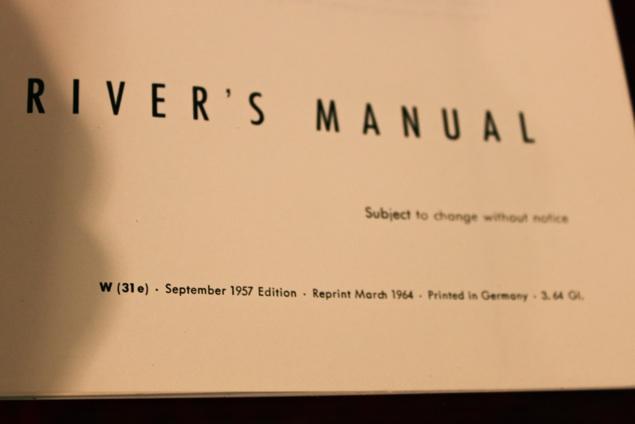 356 A Driver's Manual