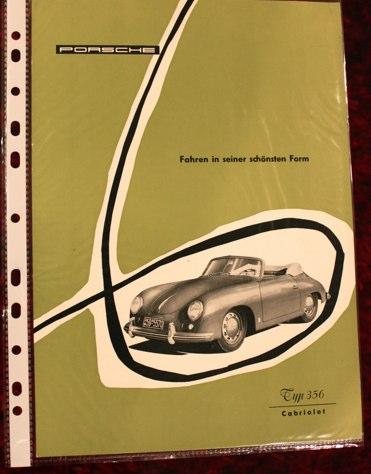Fahren in seiner schönsten Form - 356 Cabriolet