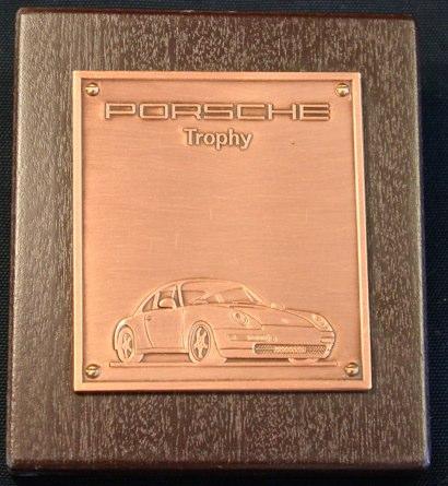 Porsche 911 Official Porsche Tophy Badge