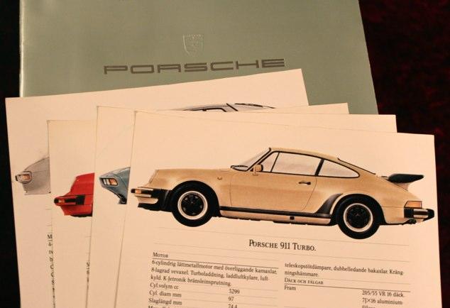 924 944 928 911 Carrera Brochure 1983