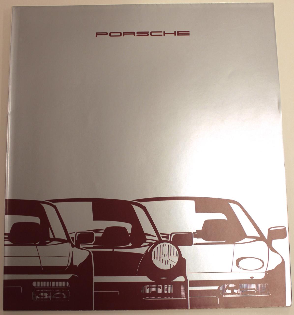 1990 Porsche Original Car Sales Brochure 928 928GT 911 Carrera 4 944 944S2