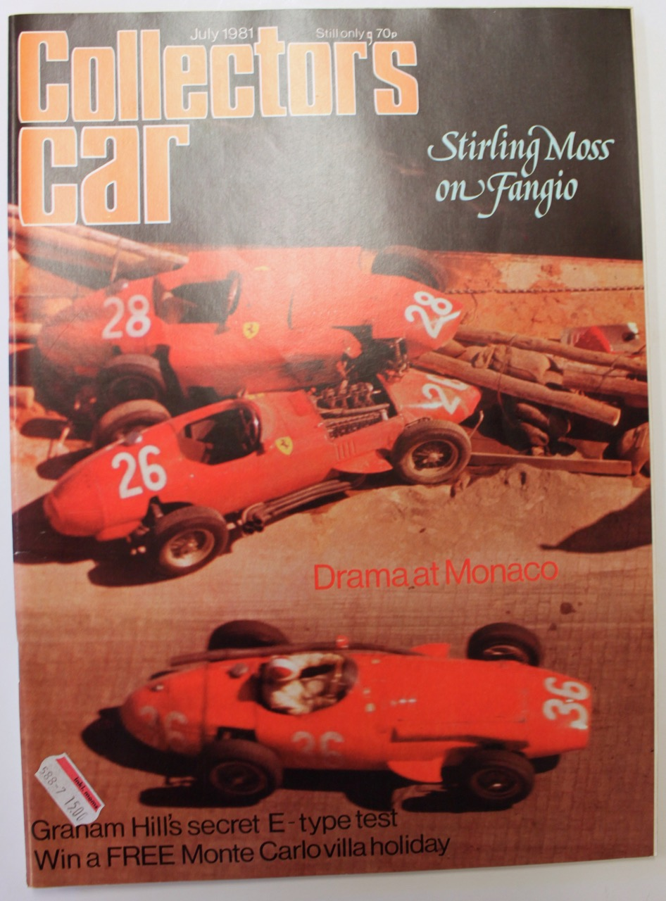 Collector S Car Magazine 1979 1981 Vintage Cars