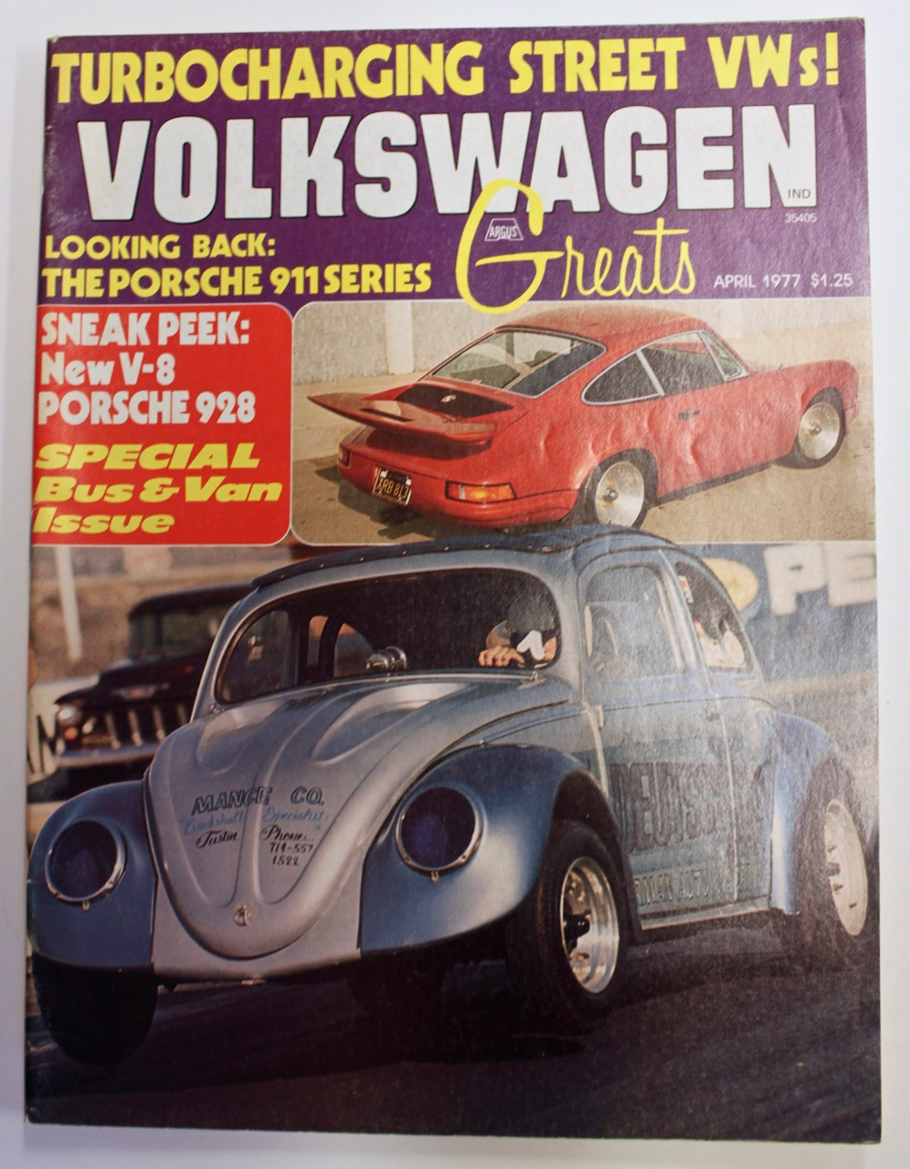 Volkswagen Greats - magazine from april 1977 | Vintage Cars