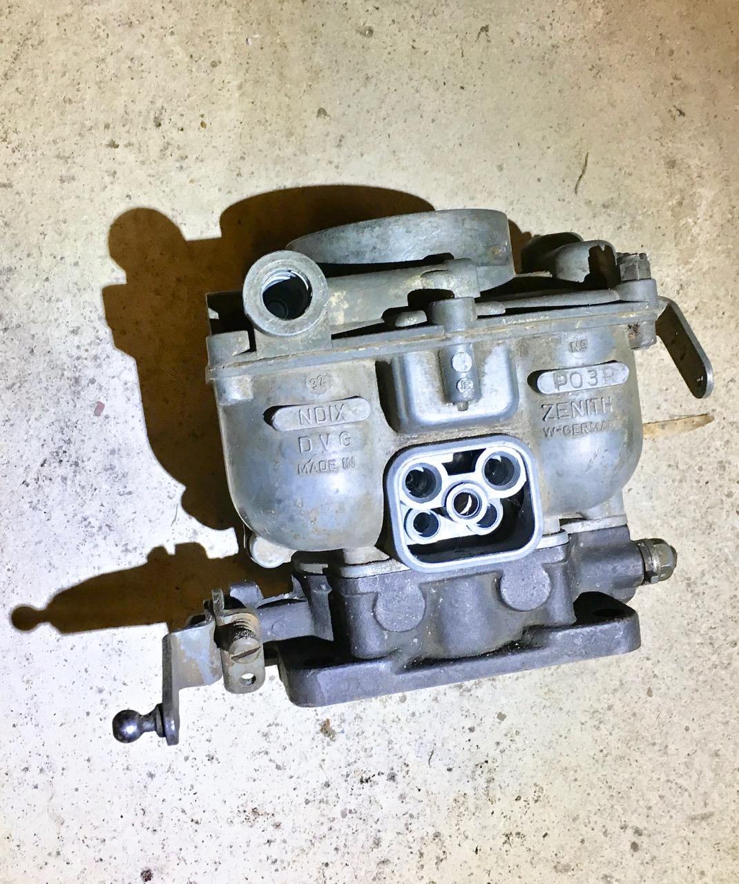 Porsche 356 Carburetor Zenith NDIX 32 (#1)